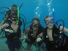 Подводное плавание в Греции