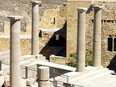 Древний Акрополь Родоса. Линдос, Греция