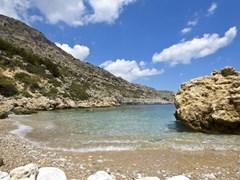 Пляж на острове Родос, Греция