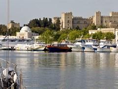 Гавани острова Родос в Греции