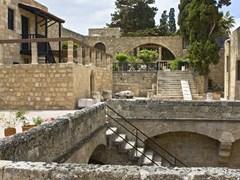 Исторический средневековый город Родоса в Греции