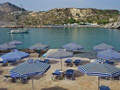 Ladiko-залив в Греции Родос