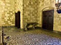 Номер внутри дворца Рыцарей на острове Родос, Греция