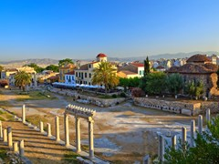 18_Ruins-in-Plaka-area,-Athens,-Greece