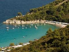 Armenistis camping and beach, Sithonia, Halkidiki, Greece (2)