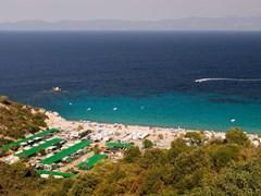 Armenistis camping and beach, Sithonia, Halkidiki, Greece