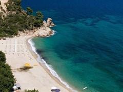 Banana beach, Halkidiki, Greece