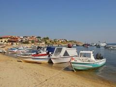 Nea Fokia at Kassandra, Halkidiki, Greece