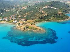 Вид на остров Закинф, Греция