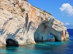 Голубые пешеры, остров Закинф, Греция
