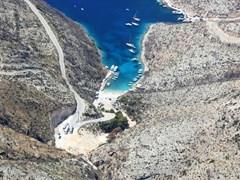 Вид на Порто Вроми остров Закинф