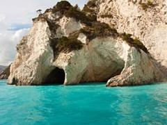 Голубые пещеры Закинфа Греция