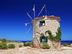 Ветряная мельница Закинф Греция