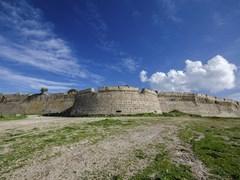 Замок села Antimachias на Остров Кос Греции