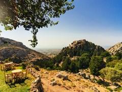 В горах о. Кос Греция