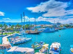 Стоянка в порту острова Кос