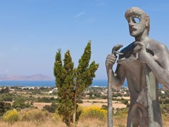 Статуя Асклепия, Кос, Греция