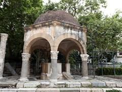 Платея платана Гиппократа в городе Кос. Греция