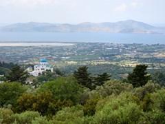 Вид из деревни Зия на Кос