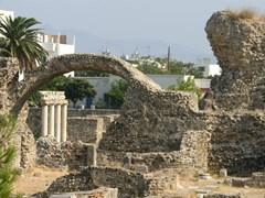 Стародедовский землерой города на острове Kos, Греции