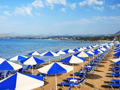 04_A-view-of-sunbeds-awaiting-tourists-at-the-Greek-island-resort-of-Georgioupolis-on-Cretes-north-coast.