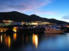 15_Beach-illumination-at-luxury-hotel-during-sunset,-Crete,-Greece