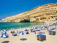 21_Famous-Beach-Matala,-Greece-Crete