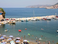 22_A-view-of-the-harbour-of-the-resort-village-of-Bali,-in-Crete,-Greece.