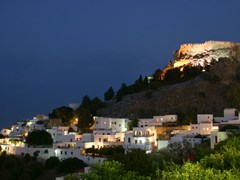 44_castle-on-the-hill,night,-Greece,Rhodes,Lindos