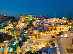 27_Santorini-sunset-(Firostefani)---Greece-vacation-background