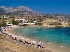 08_Karpathos-Beach-of-Lefkos-Bay,-island-of-Karpathos---Greece