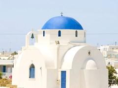 Классическая греческая церковь на о-ве Парос
