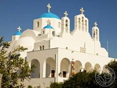 Греческая церковь на острове Наксос