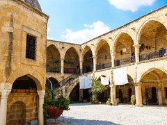 Бюйюк Хан, древняя османская архитектура. Северный Кипр