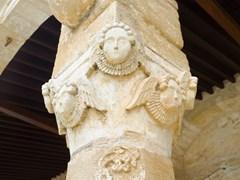 Средневековая колонна Церкви Св.Георгия