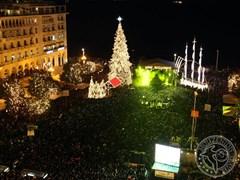 Новорічна ніч. Салоніки, Греція
