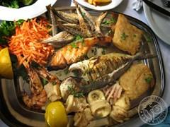 Морепродукти грецької кухні