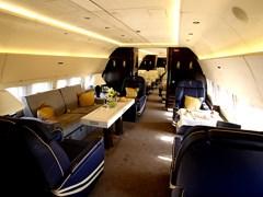 Інтерьер Boeing 737 BBJ