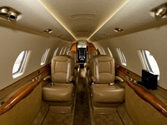 Інтер'єр Cessna Sovereign C-680 - 2