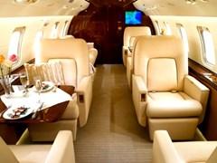Крісла - дивани літака Challenger CL-601
