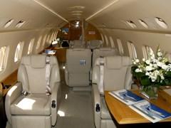 Салон Embraer Legacy - 600