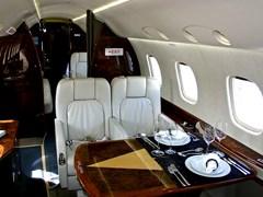 Інтер'єр Embraer Legacy - 600