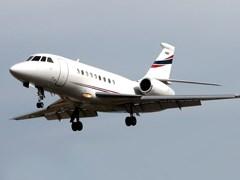 Falcon - 2000EX в повітрі