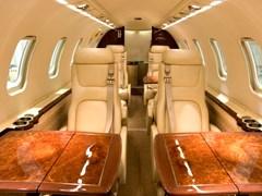 Салон Learjet - 45