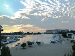 Porto Carras. Марина