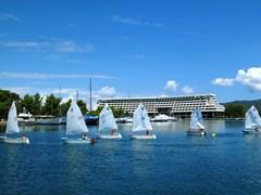 Porto Carras. Яхты