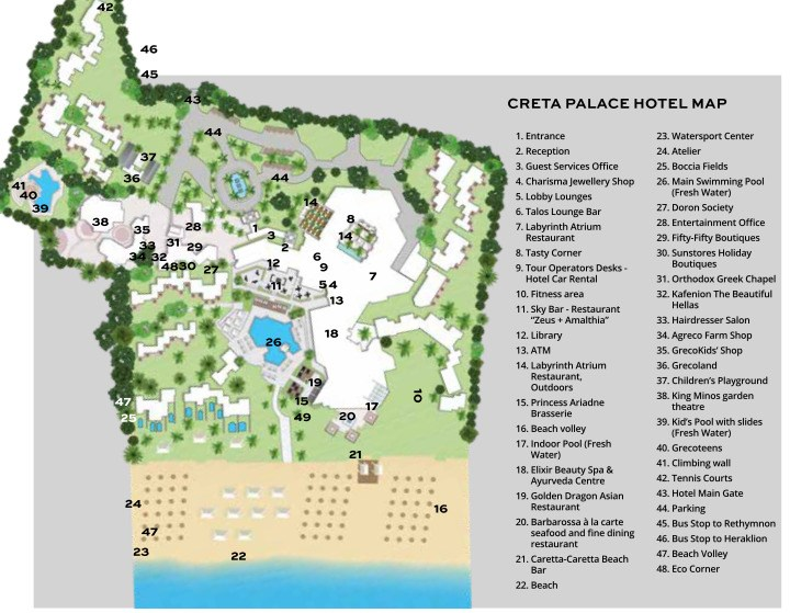 Grecotel Creta Palace Luxury Resort - 89