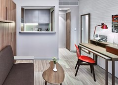 Adagio Aparthotel Moscow Kievskaya: Room STUDIO CAPACITY 2 - photo 5